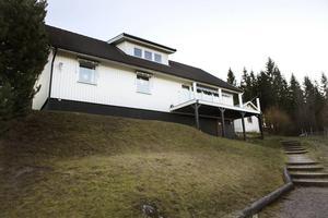 I huset i Nyhamn har familjen bott i fyra år.
