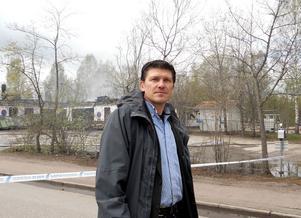Johan Stråhle arbetar som stiftsingenjör i Västerås stift.