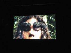 Andrea Furberg har skapat videoinstallationen