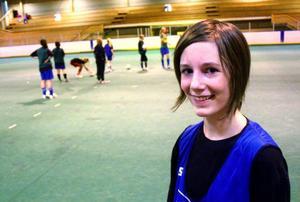 Anna Henriksson, från Ånn, trivs med det nya samarbetet.