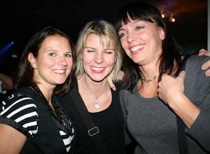 Pluto. Anette Lewén, Eva Lindgren och Lisa Stridsman