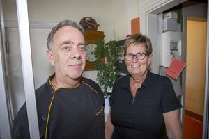Anna och Ulf Carlsson har drivit Gästis i Tierp sedan 1984.