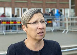 Karima Abou-Gabal är beredskapsansvarig på Migrationsverket i Malmö. Just nu arbetar hon i princip dygnet runt med den stora strömmen av flyktingar som kommer till Sverige.