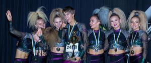 De regerande mästarna i gruppdisco, EBF Dance Crew hade åkt till Örebro för att försöka försvara sitt guld från i fjol men konkurrensen var hård och det slutade med en hedervärd silvermedalj. EBF Dance Crew har dansat tillsammans sedan 2012 och består av Ella Ström från Insjön, Emmy Kujanpää från Borlänge, Hanna Wesström, Jennifer Bergman och Rebecca Andersson från Falun, Leonard Lundback från Siljansnäs och Maria Rasche från Leksand.