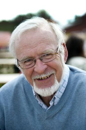 """Lennart Gunnarsson, 67 år, Laxå:–Psalm 23, """"Herren är min herde, ingenting skall fattas mig ...""""."""