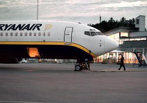 Flygplan från Ryanair.