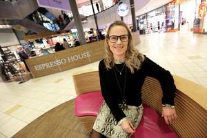Malin Lundgren menar att etableringen passar bra in i köpcentrumets butiksmix.
