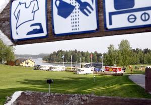 """sälja. """"Jag vill bara få sälja"""", säger Lena Eriksson som driver Farstanäs camping. Arkivfoto: Thomas Brandt"""