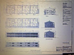 De två hyreshusen ska inrymma totalt 16 lägenheter.