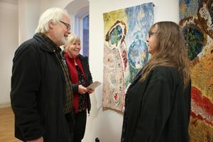Lasse och Eva Schjelderup från Stockholm hade tagit sig till Hallsberg för att träffa Anntott. De pratade om