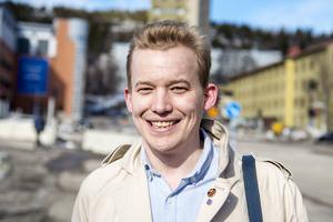 Jonas Ivarsson, 29 år, marknadsförare, Sundsvall.
