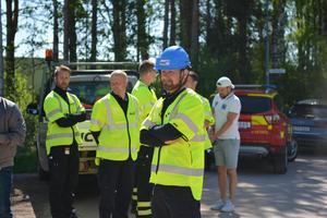 Ställföreträdande räddningschefen Peter Bäcke ser framemot en ny och förbättrad brandstation.