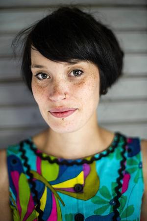 Linnea Näslund Daun flyttade från Stockholm till Moliden. Nu ska hon undervisa på Björnaskolan.