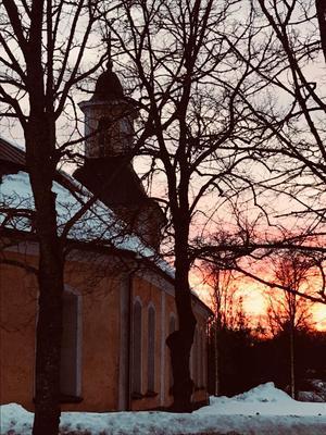 Den 1 april blir det påskdagsmässa med bland andra Gustafs vokalensemble och GustAfro i kyrkan.Foto: Daniel Larsson