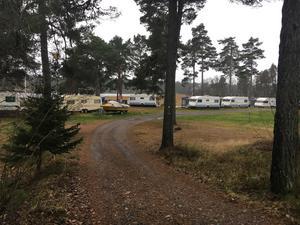 Singö camping är ett populärt ställe att bo i husvagn på under sommaren.