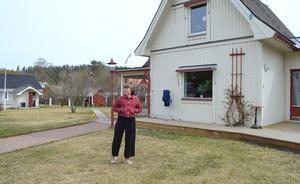 Så ofta hon kan besöker Josefine Alpen sitt föräldrahem i Skottsund.