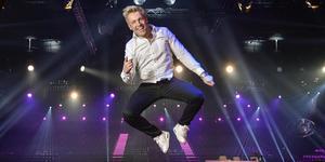 Får Gottfrid Krantz hoppa högt även efter fredagens final. Foto: Anders Wiklund / TT