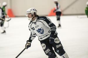 Oskar Lundgren är klar för spel i Bollnäs.