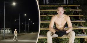 Joakim Bedoire, 25, ska springa utan tröja i 24 timmar på Gunder Hägg-stadion i december.