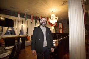 Det är med blandade känslor som Alex Saleh planerar att sälja restaurangen som han har renoverat och inrett helt på egen hand.