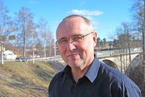 Krister Ejeros, räddningschef brandkåren Leksand. Foto/Arkiv: Annki Hällberg.