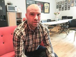 Ekonomichef Martin Johansson berättar om ett betydligt höjt sponsorvärde för ÖFK idag kontra för ett år sedan.