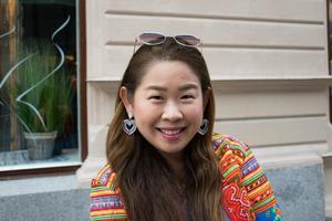 Angsana Lindberg, 37 år, cancerforskare vid Umeå Universitet, Sundsvall: