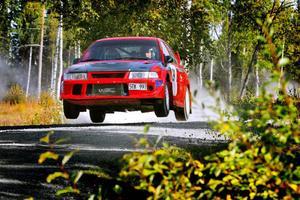 Leif Andersson blev tvåa i 4WD-klassen.