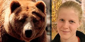Emma Andersson är vilthandläggare vid länsstyrelsen i Jämtlands län. Foto: TT/Privat