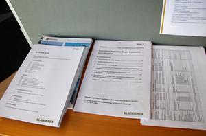 På fyra platser i kommunen finns det möjlighet att  studera handlingarna till planerna på den nya  översiktsplanen.