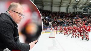 Timrås sportchef planerar att bygga en trupp på 26 spelare inför återkomsten till SHL. Foto: Pär Olert/Bildbyrån.