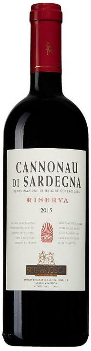 Cannonau di Sardegna Riserva 2015.
