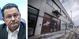 Företagaren Davor Dundic driver restaurangen A Bar och Bistro vid Behrn arena. Miljönämnden har nu beslutat att dra in alkoholtillståndet för restaurangen.  FOTO: HÅKAN RISBERG och ROBBAN ANDERSSON