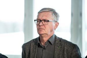 Mats Dahlström (C) deltog i den direktsända debatten som DT arrangerade.