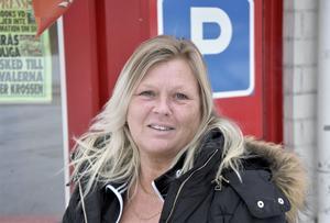 Ann-Louise Persson, 55 år, säljare, Söderhamn.