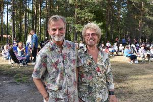 Picknickfestivalen fick även internationellt besök av de danska artisterna Ole Rasmus Møller och Allan Mortensen.