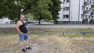 På plats 10 har Kjell Malmströms husvagn stått länge, tills nu. – Jag vet om fyra som har tagit bort sina vagnar, exklusive mig själv.