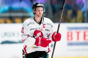 Jesper Samuelsson har  denna säsong C:et på sitt bröst. Foto: Andreas Sandstršm / BILDBYRÅN.