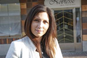 """""""Det finns inte så många sådana här butiker och folk kommer att vara beredda att åka en bit för att få det de vill ha"""", säger Evelina Goldheim."""