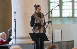 Malin Berghagen lånade i sitt tal citatet