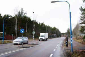 Fredrik Horn oroas av den höga hastigheten på väg 76.