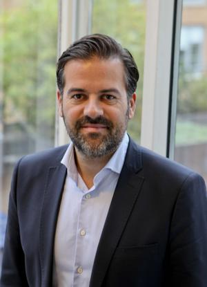 Stefan Popovic, chef för arbetsförmedlingens  avdelning kundsupport och ersättning. Foto: Arbetsförmedlingen