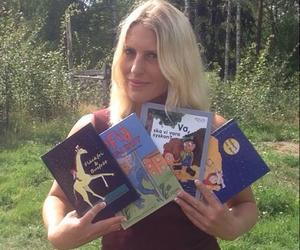 Johanna Sandberg firar bok nummer 20