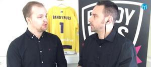 Bandypuls experter diskuterar hur Broberg löser tränarfrågan. Bild: Mittmedia.