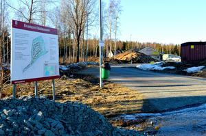 Några villor har redan byggts i det nya kvarteret i Siggebo. Nu planeras sju till.