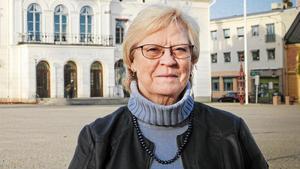 Elizabeth Salomonsson, S, kommunalråd i Köping,säger att hon är glad och tacksam över att regeringen lovat öka tilldelningen av statsbidrag till välfärden. (Foto: Ulf Eneroth)