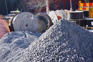 Tunbyns grävkonsult sysslar bland annat med grävprojekt i el- och fibernätsbranschen.