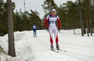 Martin Lundgren, Stockviks SF, hade roligt i spåret.