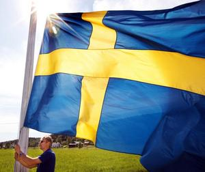 Det finns många regler och rekommendationer runt flaggningen, men det är bättre att flagga än att låta bli på grund av att man är osäker om reglerna. Bild: Stefan Sundkvist