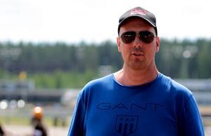 Stefan Arvidsson hoppas kunna köra lopp redan på fredag.